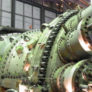 Hytorc Nut på GE F9 turbin